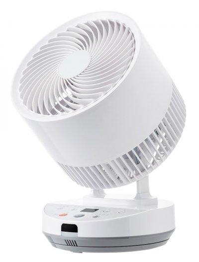 本体画像:DCエアーサーキュレーター 熱中症警戒機能付 YAR-WED18