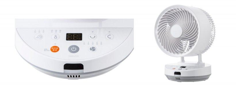 メイン画像:DCエアーサーキュレーター 熱中症警戒機能付 YAR-WED18